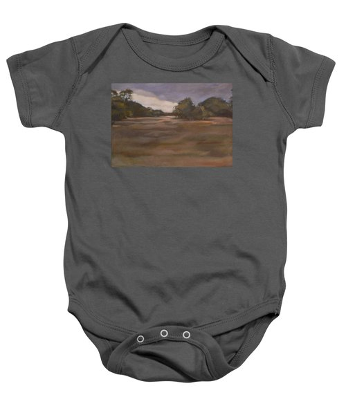 Clouds And Fields Baby Onesie