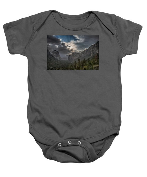 Clouds And Light Baby Onesie by Bill Roberts