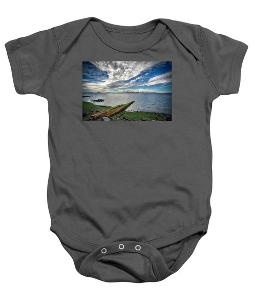 Clouds Over The Bay Baby Onesie