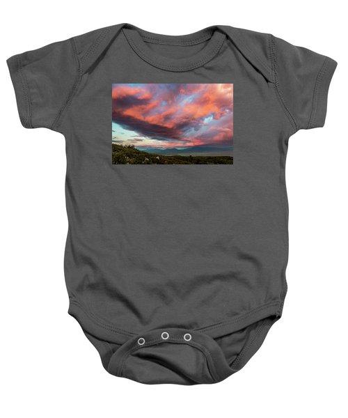 Clouds Over Warner Springs Baby Onesie