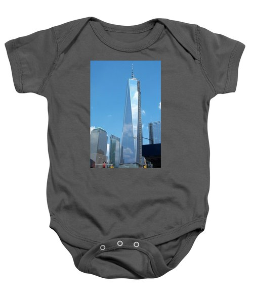 Clouds Reflection Baby Onesie