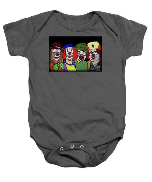 Clowns Baby Onesie