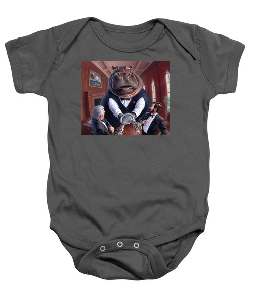 Clumsy Baby Onesie by Jerry LoFaro