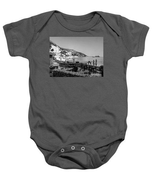 Coast Of Dubrovnik Baby Onesie