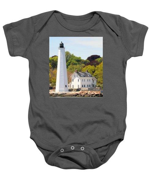 Coastal Lighthouse-c Baby Onesie