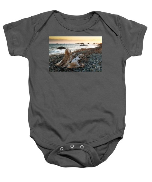 Baby Onesie featuring the photograph Coastline by Vincent Bonafede