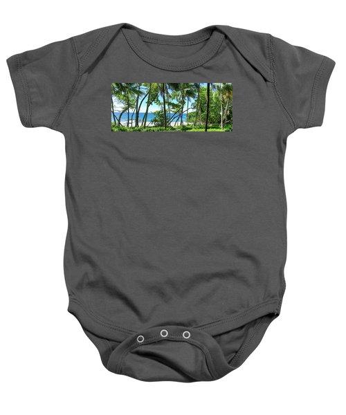 Coata Rica Beach 1 Baby Onesie