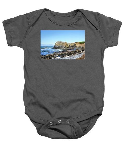 Cobblestone Beach Baby Onesie