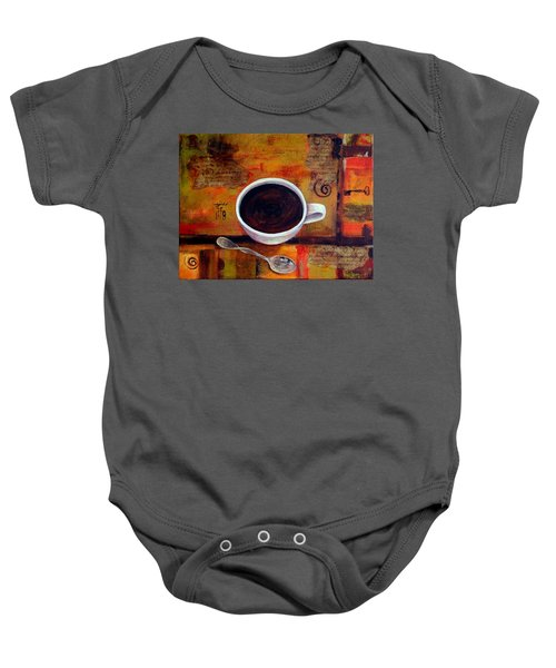 Coffee I Baby Onesie