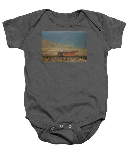 Cog Railway Mount Washington Baby Onesie