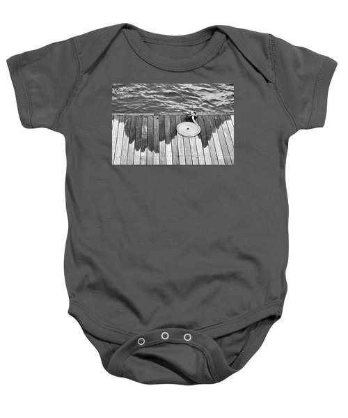Coiled Rope Baby Onesie