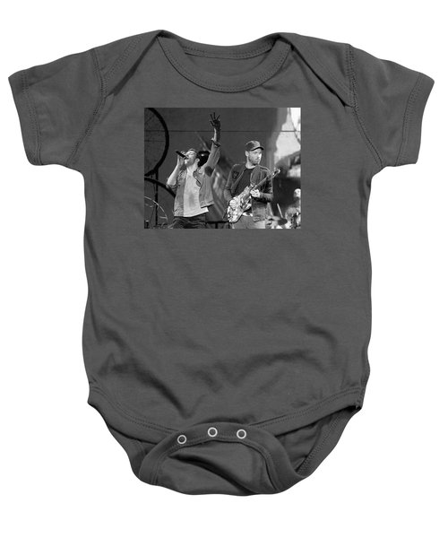 Coldplay 14 Baby Onesie by Rafa Rivas