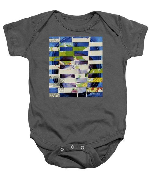 Collage Verso Baby Onesie