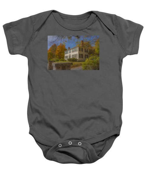 Colonial House On Main Street, Easton Baby Onesie