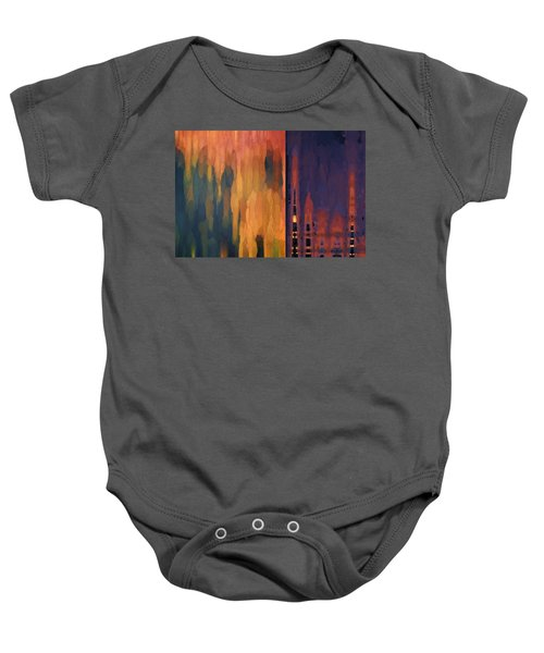 Color Abstraction Liv Baby Onesie