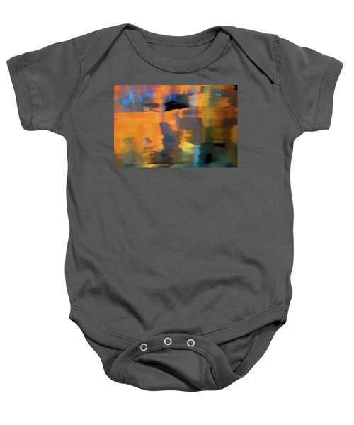 Color Abstraction Lxxii Baby Onesie