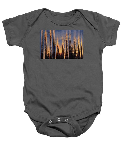 Color Abstraction Xl Baby Onesie