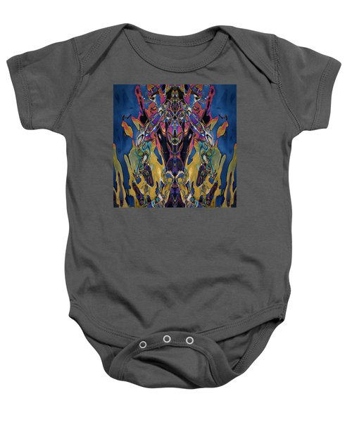 Color Abstraction Xxi Baby Onesie
