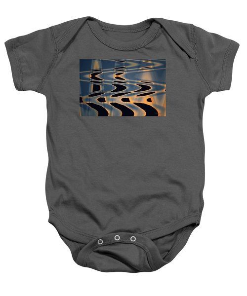 Color Abstraction Xxiv  Baby Onesie