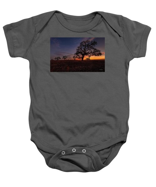 Color Change At First Light Baby Onesie