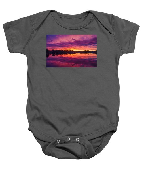 Color Explosion Sunset Baby Onesie