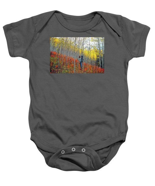 Color Fall Baby Onesie