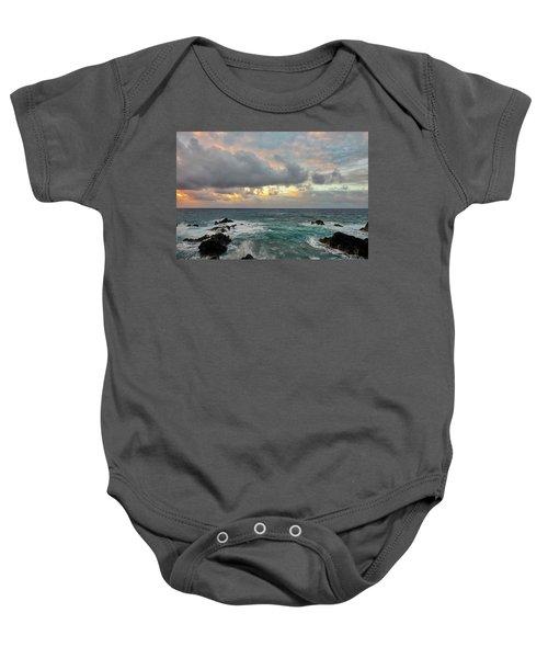 Color In Maui Baby Onesie