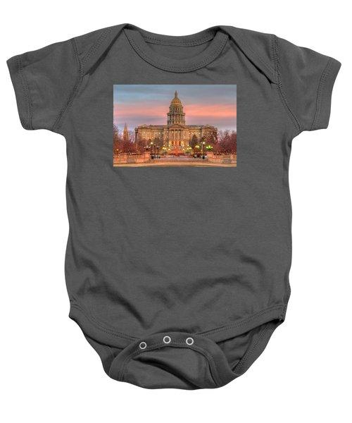 Colorado Capital Baby Onesie