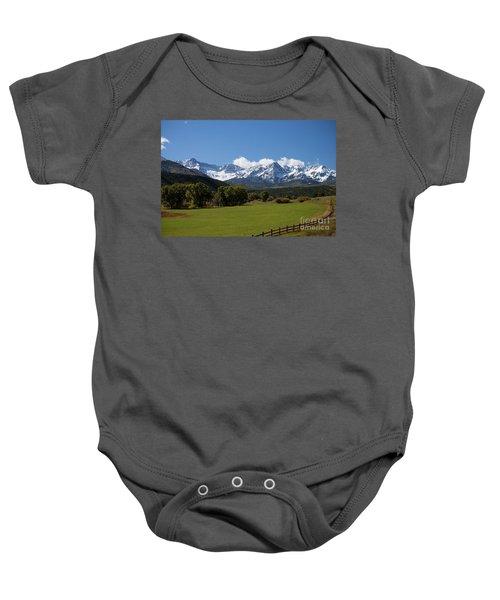 Colorado Ranch Baby Onesie