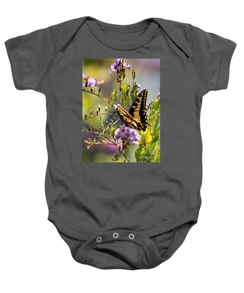 Colorful Butterfly Baby Onesie