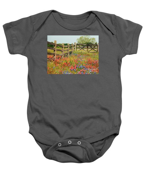 Colorful Gate Baby Onesie