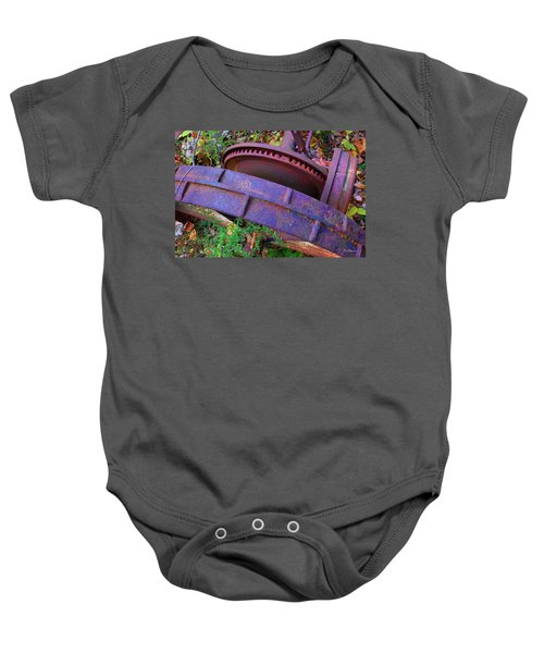 Colorful Gear Baby Onesie