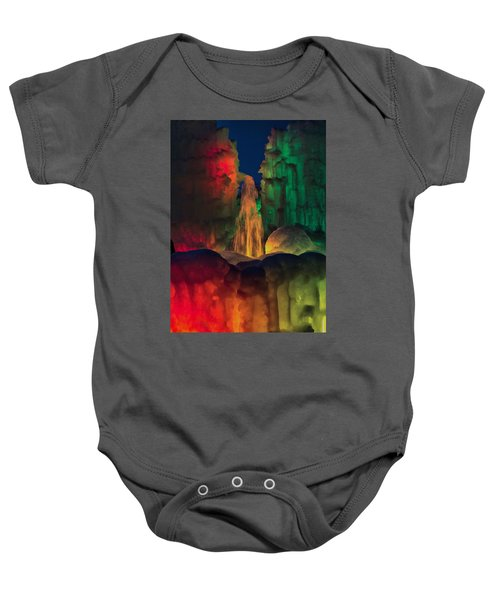 Colorful Ice  Baby Onesie