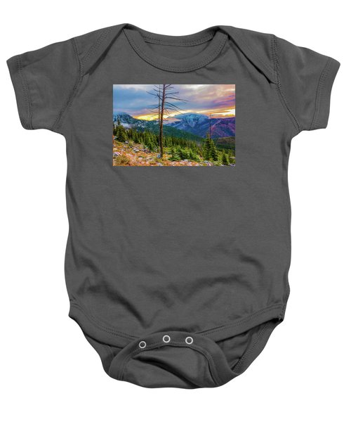 Colorfull Morning Baby Onesie