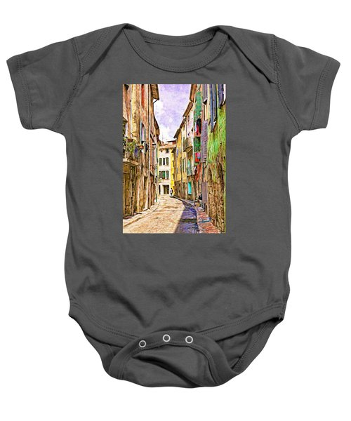 Colors Of Provence, France Baby Onesie