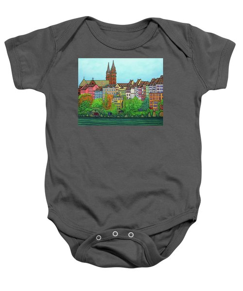 Basel, Colours Of Basel Baby Onesie