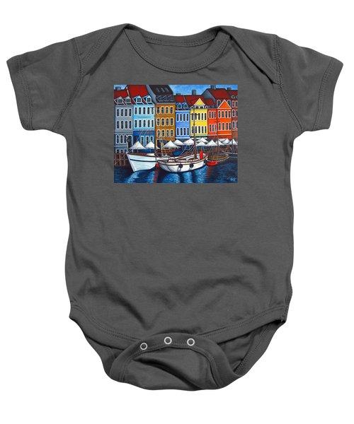 Colours Of Nyhavn Baby Onesie