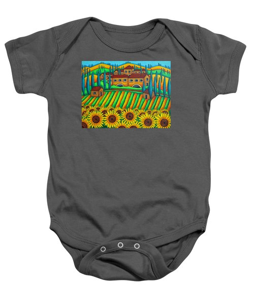 Colours Of Tuscany Baby Onesie