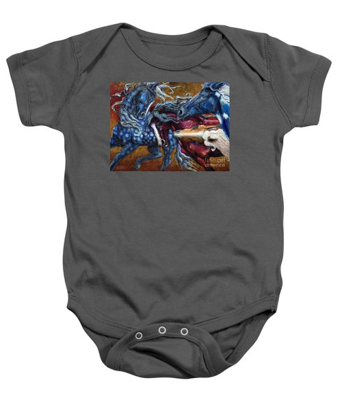 Colts Revolving Together Baby Onesie