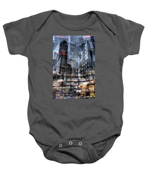 Columbus Circle Collage 1 Baby Onesie