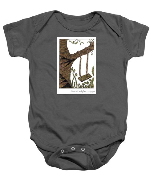 Come Out And Play Baby Onesie