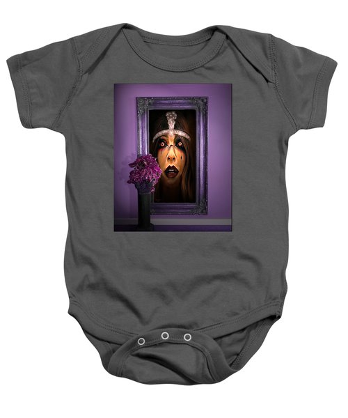 Come With Me, If You Dare Baby Onesie