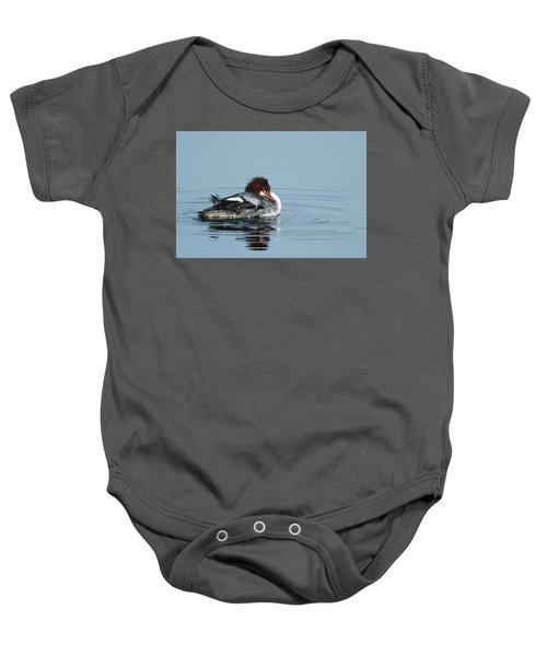 Common Merganser Baby Onesie