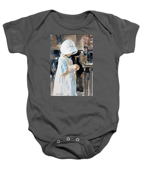 Concentration Baby Onesie