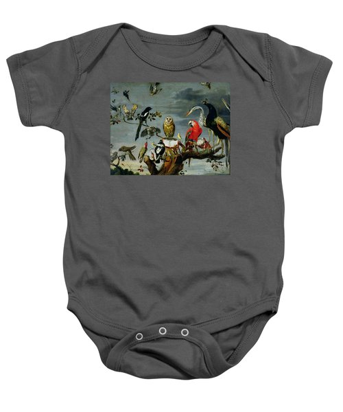 Concert Of Birds Baby Onesie