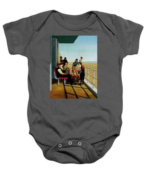 Coney Island Baby Onesie