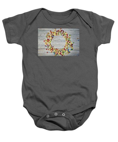 Confetti Circle Baby Onesie