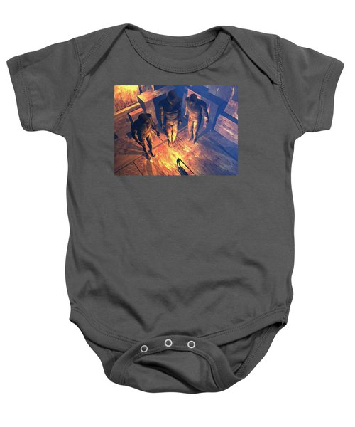 Confronted By Malignant Forces Baby Onesie