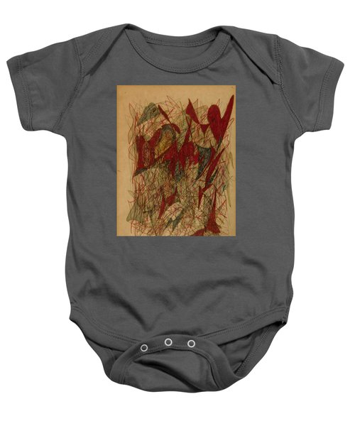 Conglomerate Synthesis  Baby Onesie