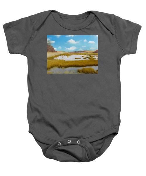 Connecticut Salt Water Marsh Baby Onesie
